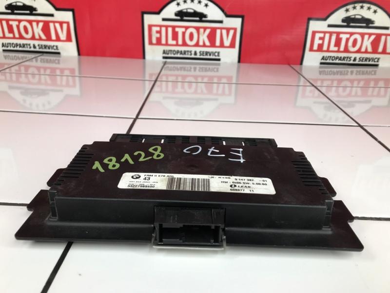 Блок управления светом Bmw X5 E70 M57D30TU2