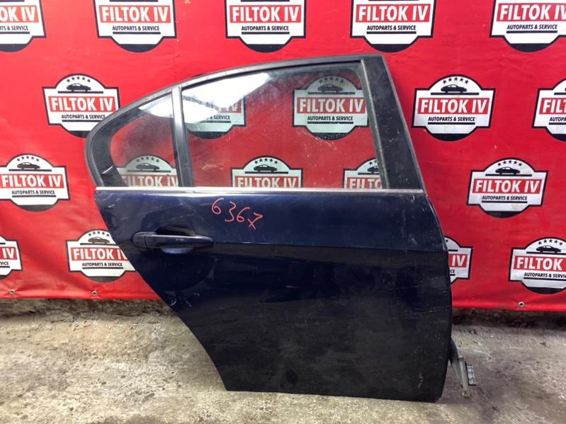 Дверь боковая Bmw 3-Series E90 N52B30 задняя правая