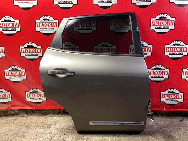 Дверь боковая Nissan Rogue S35 QR25DE задняя правая