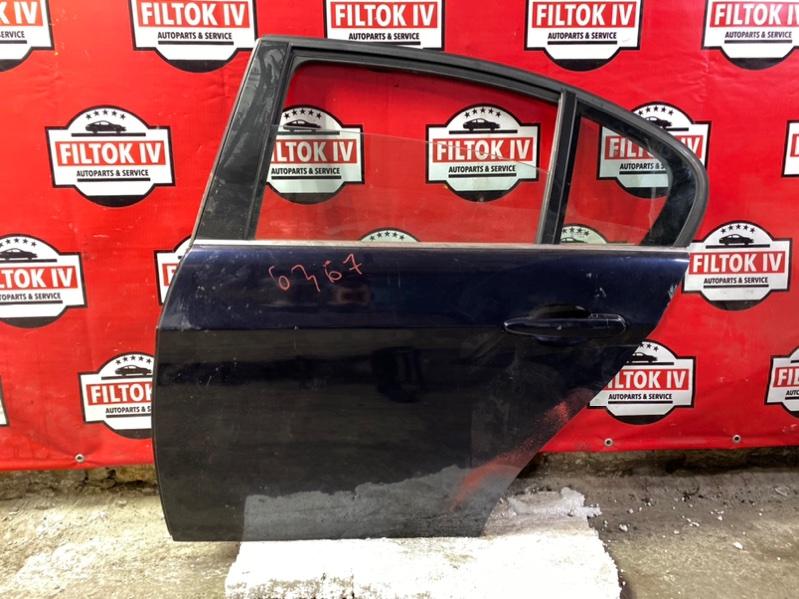 Дверь боковая Bmw 3-Series E90 N52B30 задняя левая