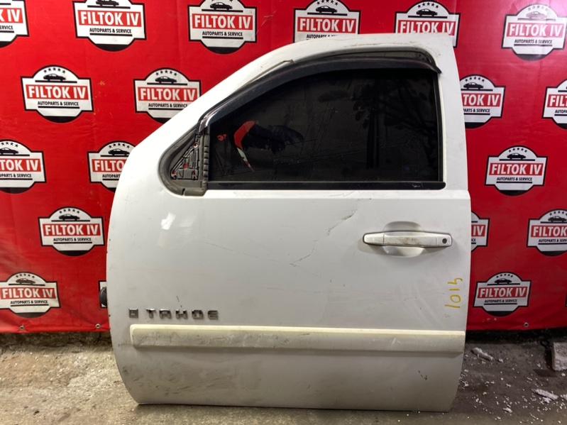 Дверь боковая Chevrolet Tahoe GMT900 LY5 передняя левая