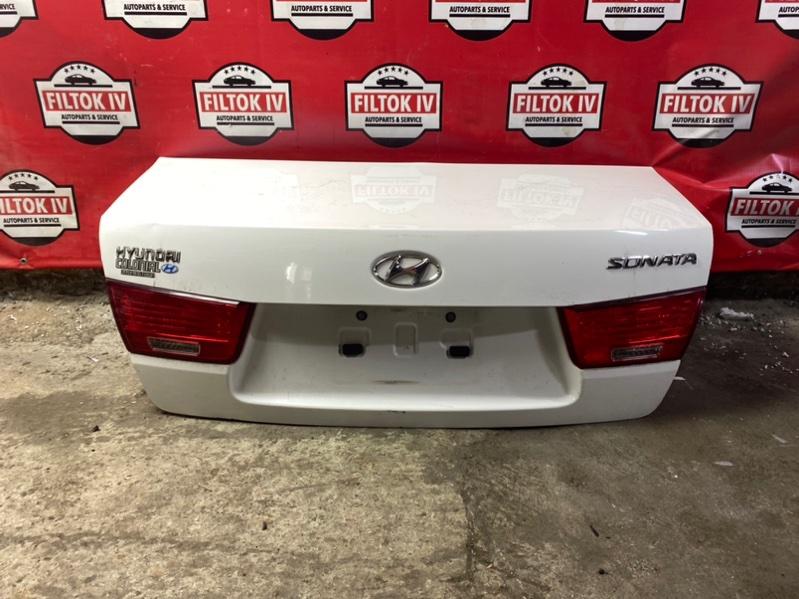 Крышка багажника Hyundai Sonata NF G4KE