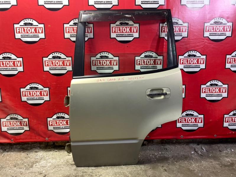 Дверь боковая Honda Capa GA4 D15B 1999 задняя левая