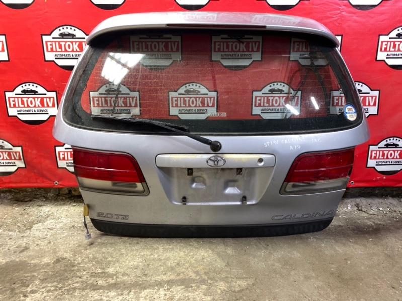 Дверь багажника Toyota Caldina ST191 3SFE 1996