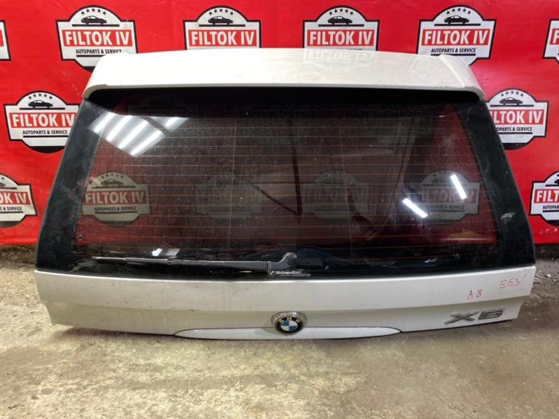 Дверь багажника Bmw X5 E53 M54B30 2004 верхняя