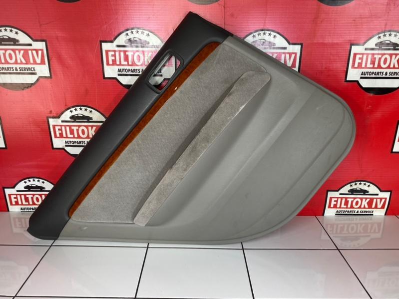 Обшивка двери Toyota Mark Ii GX110 1GFE BEAMS 2003 задняя левая