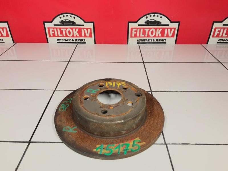 Диск тормозной Toyota Rav4 GSA33 2GRFE задний правый