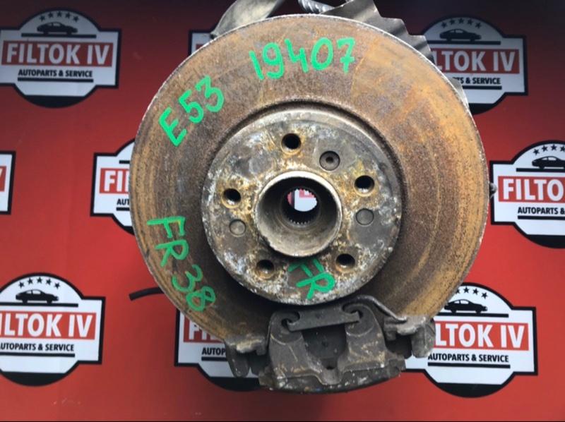 Диск тормозной Bmw X5 E53 M54B30 передний правый