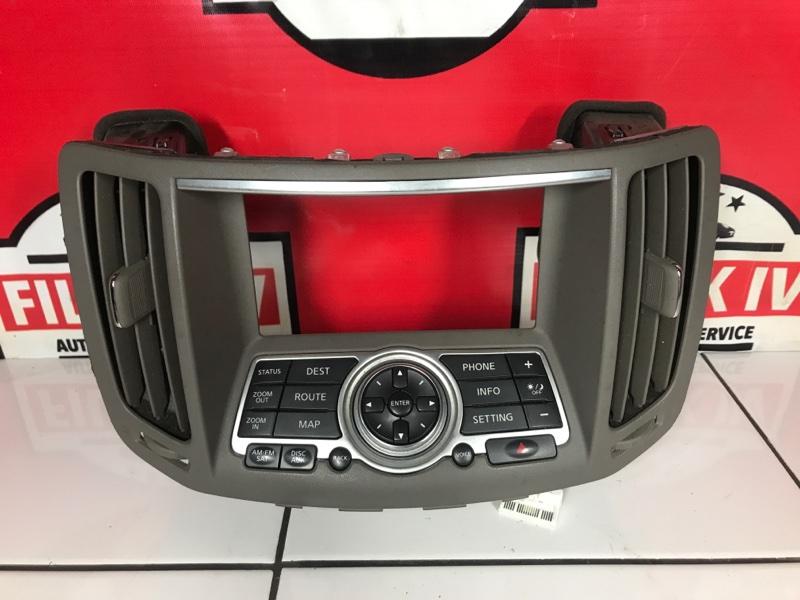 Консоль управления Infiniti Qx50 J50 VQ35HR