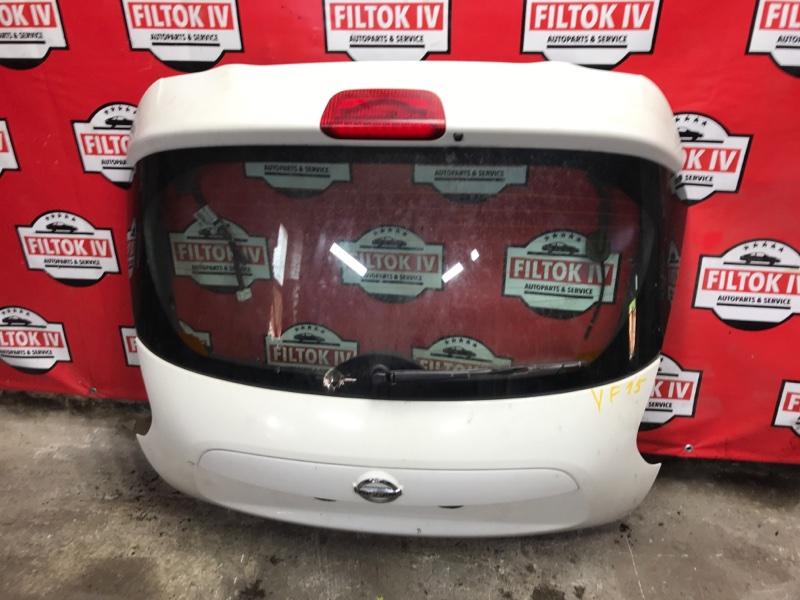 Дверь багажника Nissan Juke YF15 HR16DE