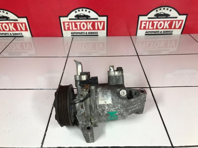 Компрессор кондиционера Nissan Juke YF15 MR16DDT