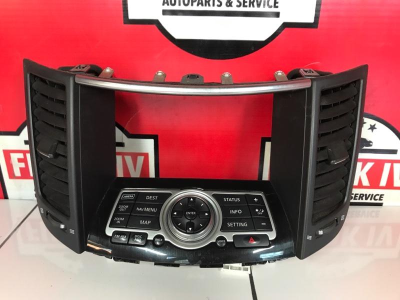 Консоль управления Infiniti Fx35 S51 VQ35HR
