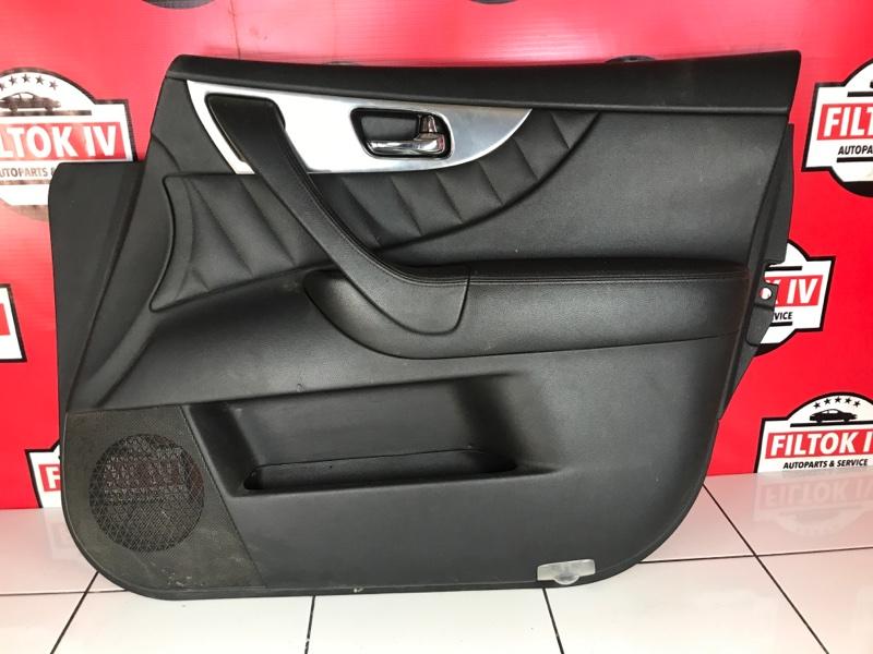 Обшивка двери Infiniti Qx70 S51 VQ37VHR передняя правая