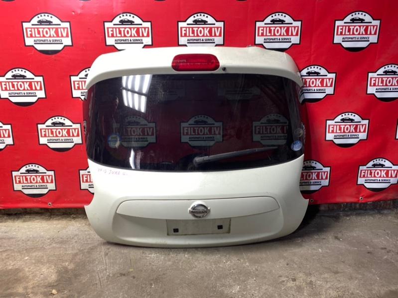 Дверь багажника Nissan Juke YF15 HR15DE 2011
