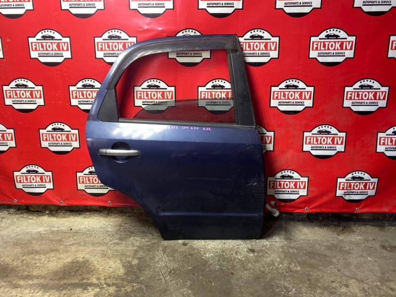Дверь боковая Suzuki Sx4 YA11S M15A 2007 задняя правая