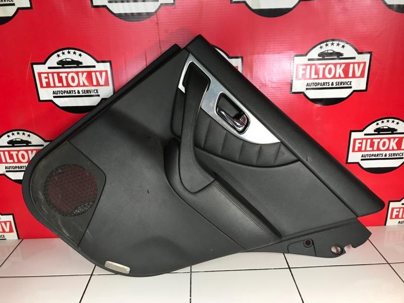 Обшивка двери Infiniti Qx70 S51 VQ37VHR задняя правая