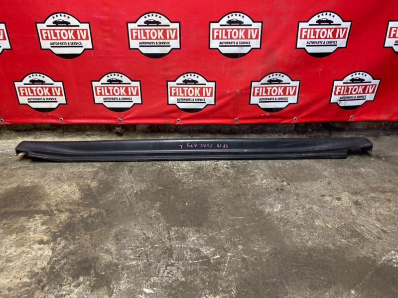 Накладка на порог Nissan Juke YF15 HR15DE 2011 левая