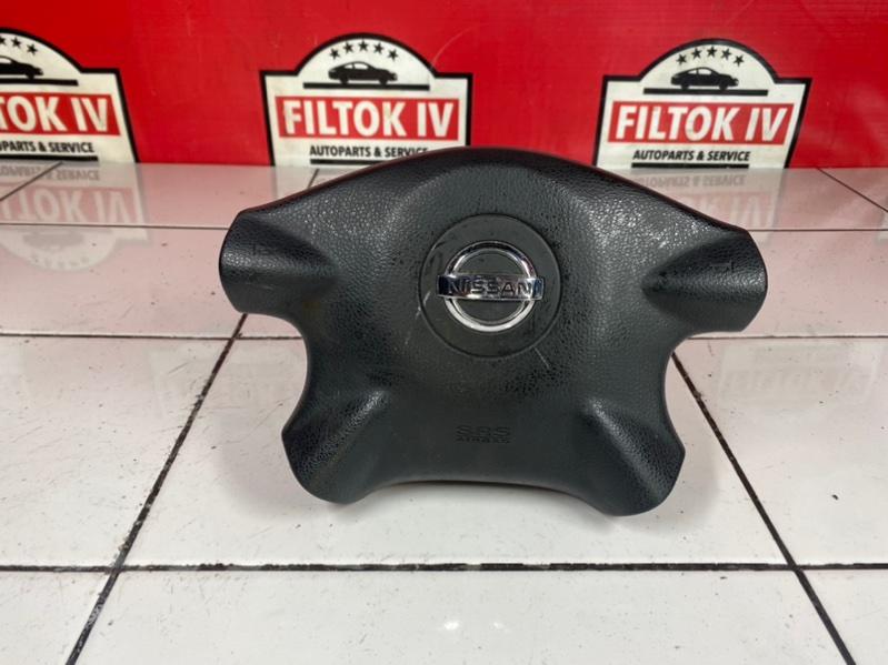 Подушка безопасности водителя Nissan X-Trail NT30 QR20DE 2005
