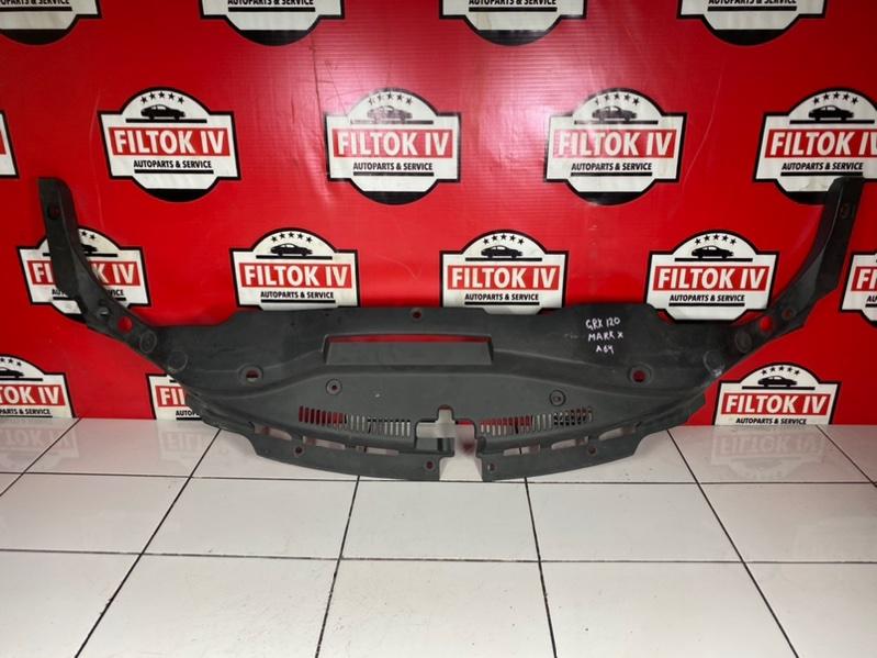 Защита замка капота Toyota Mark X GRX120 4GRFSE 2005