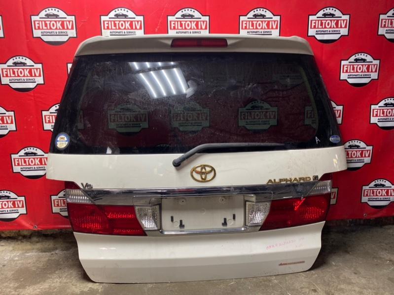 Дверь багажника Toyota Alphard MNH10 1MZFE 2003
