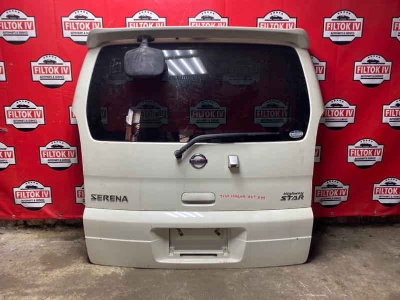 Дверь багажника Nissan Serena TC24 QR20DE 2003