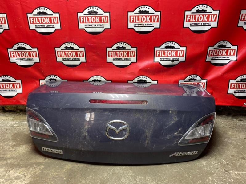 Крышка багажника Mazda Atenza GHEFP LFVE 2008