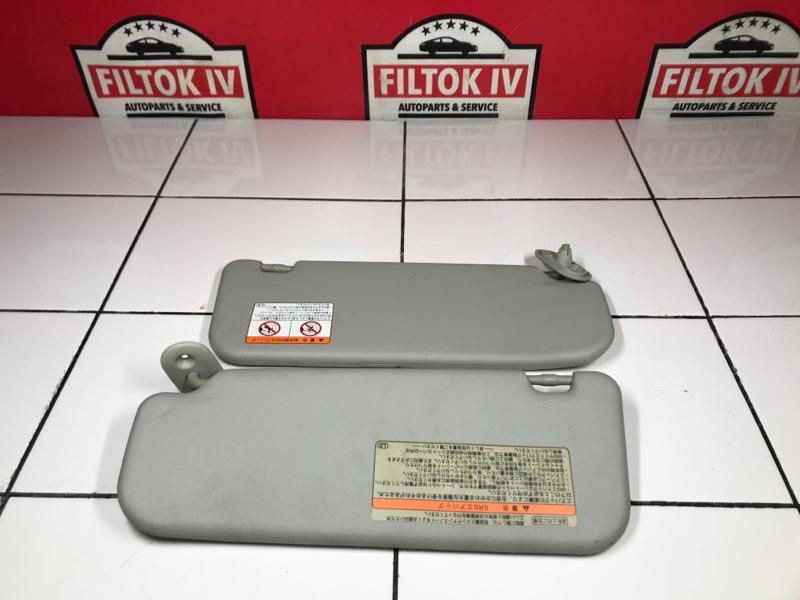 Солнцезащитные козырьки Toyota Voltz ZZE136 1ZZFE 2002