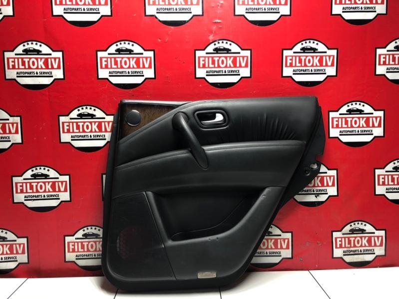 Обшивка двери Infiniti Qx80 Z62 VK56VD задняя правая