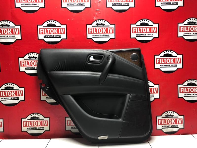 Обшивка двери Infiniti Qx80 Z62 VK56VD задняя левая