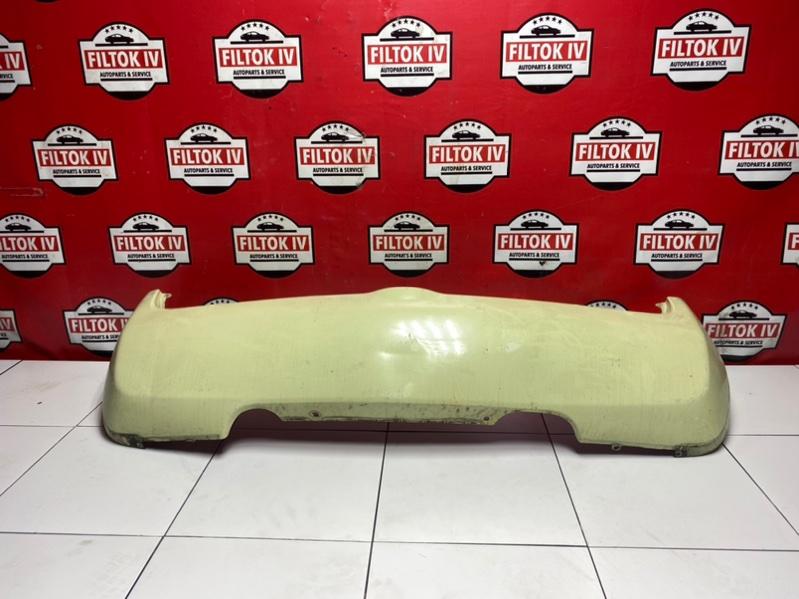 Бампер Nissan March AK12 CR12DE 2005 задний