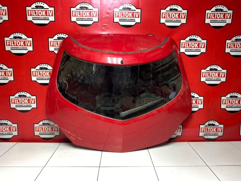 Дверь багажника Toyota Will Vs ZZE129 1ZZFE 2003