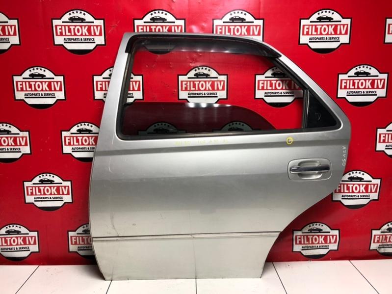 Дверь боковая Toyota Vista Ardeo AZV50 1AZFSE 2002 задняя левая