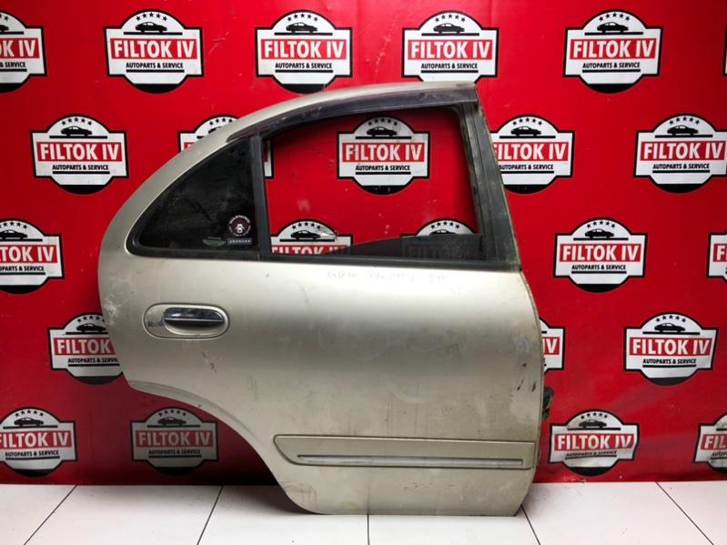 Дверь боковая Nissan Bluebird Sylphy QG10 QG18DE 2004 задняя правая