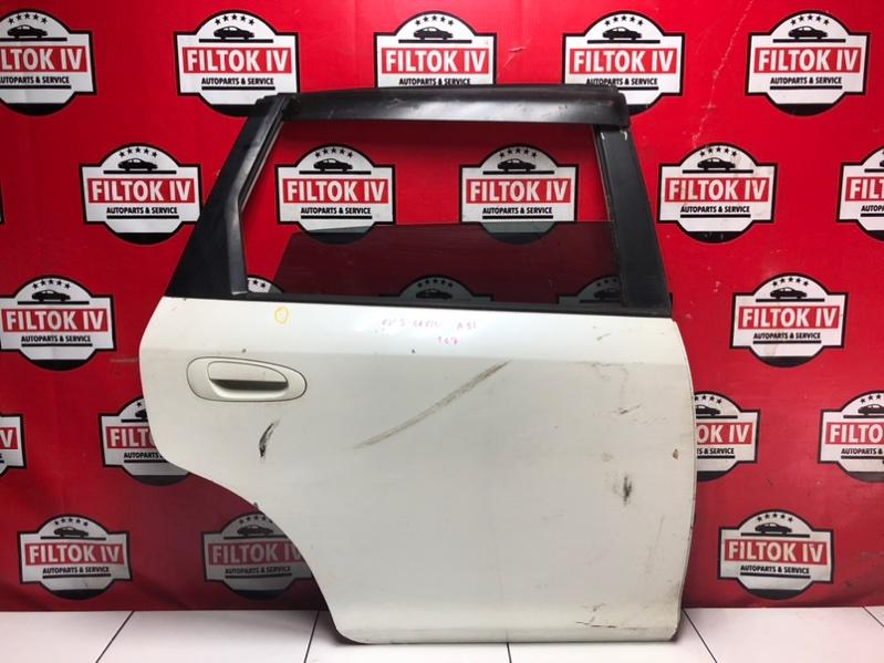 Дверь боковая Honda Civic EU3 D17A 2004 задняя правая