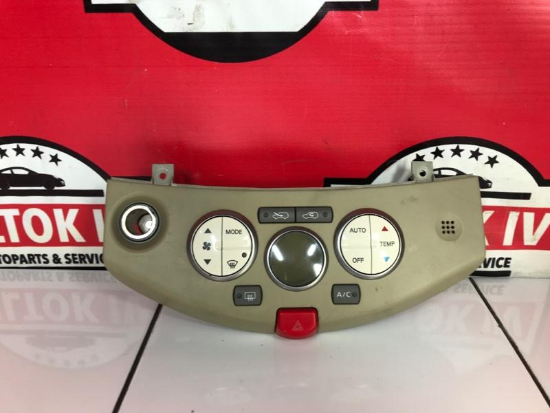 Блок управления климат контролем Nissan March AK12 CR12DE 2005