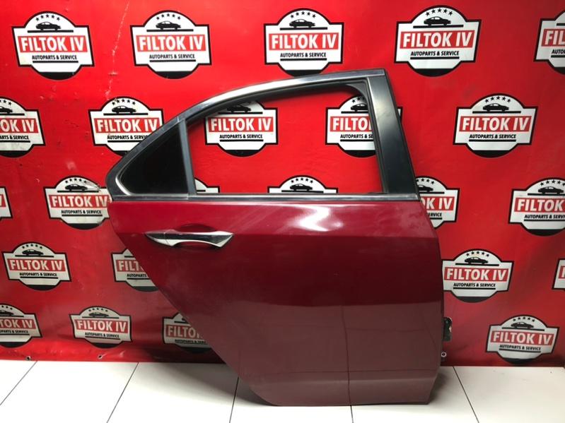 Дверь боковая Honda Accord CU2 K24Z3 задняя правая
