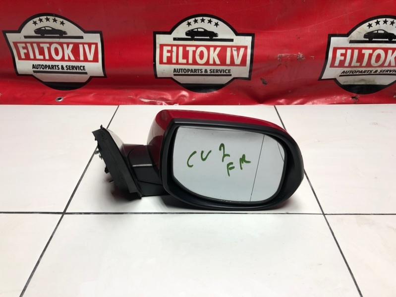 Зеркало Honda Accord CU2 K24Z3 правое