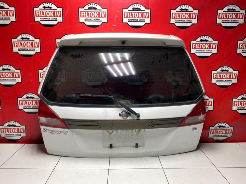 Дверь багажника Nissan Wingroad WFY11 QG15DE 1999