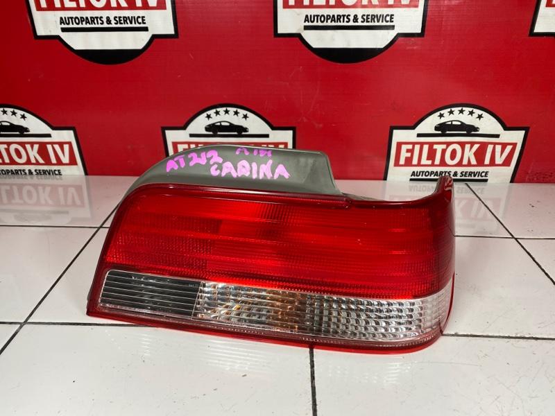 Стоп сигнал Toyota Carina AT212 5AFE 1996 задний правый