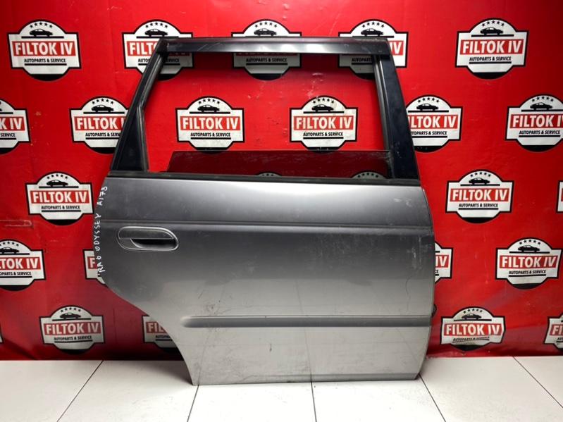 Дверь боковая Honda Odyssey RA6 F23A 2001 задняя правая