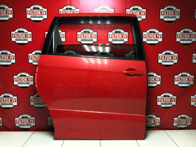 Дверь боковая Toyota Estima GSR55 2GRFE 2007 задняя правая