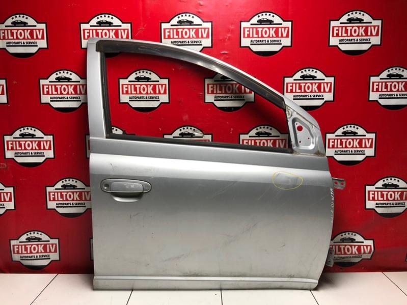 Дверь боковая Toyota Vitz SCP10 1SZFE 1999 передняя правая