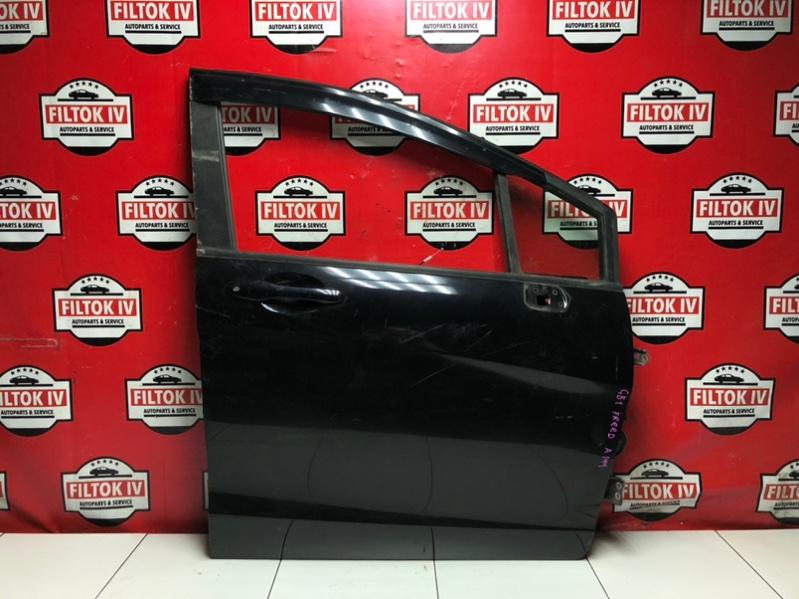 Дверь боковая Honda Freed GB3 L15A 2009 передняя правая