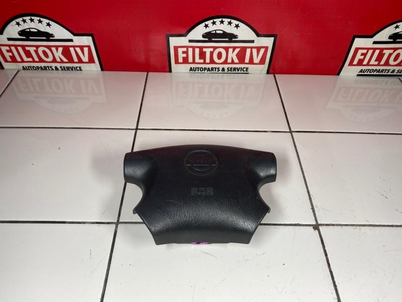 Подушка безопасности водителя Nissan Wingroad WFY11 QG15DE 1999