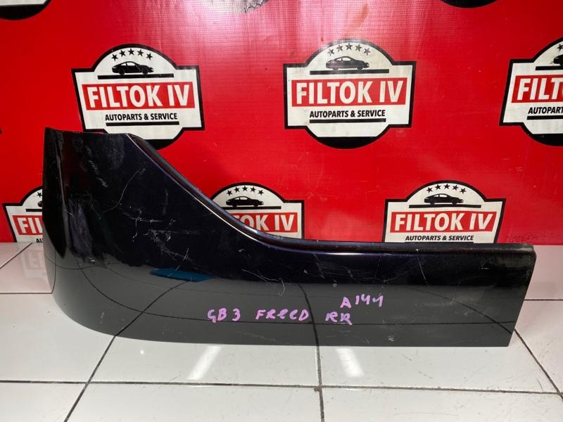 Накладка на крыло Honda Freed GB3 L15A 2009 задняя правая