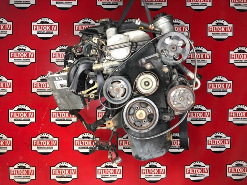 Двигатель Toyota Vitz SCP10 1SZFE 1999
