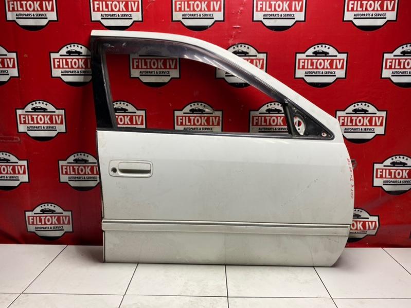 Дверь боковая Toyota Mark Ii Wagon Qualis SXV20W 5SFE 2000 передняя правая