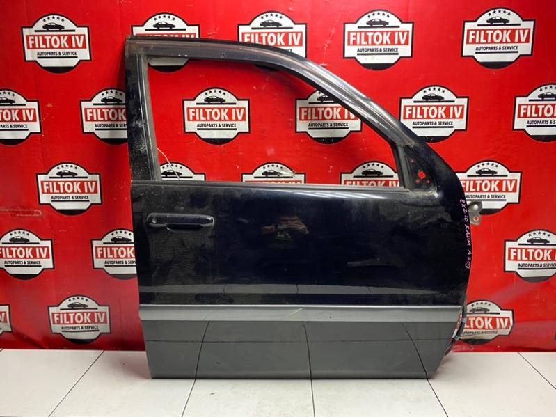 Дверь боковая Toyota Raum EXZ10 5EFE 2000 передняя правая