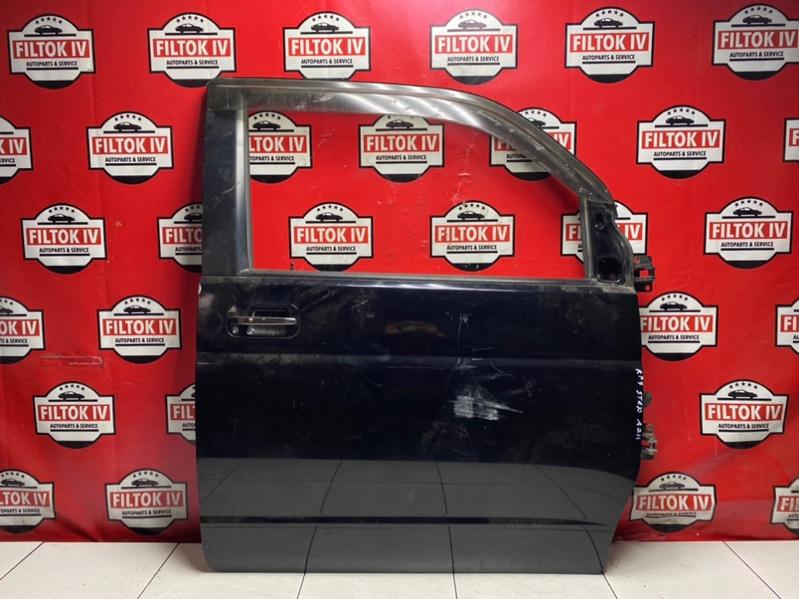 Дверь боковая Honda Stepwgn RF7 K24A 2003 передняя правая