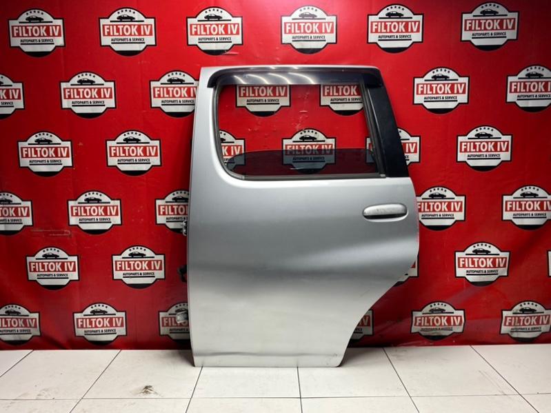 Дверь боковая Toyota Funcargo NCP21 1NZFE 2000 задняя левая